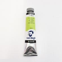 , Talens van gogh olieverf tube 20 ml geelgroen 617