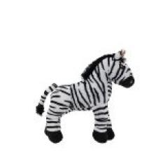 , Knuffel pluche zebra  22 cm