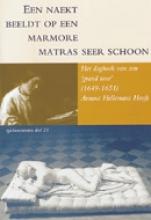 A.  Hellemans Hooft Een naekt beeldt op een marmore matras seer schoon