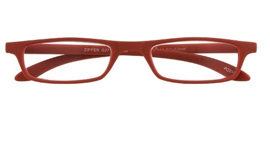 ,Leesbril zipper g27100 rood 2.00