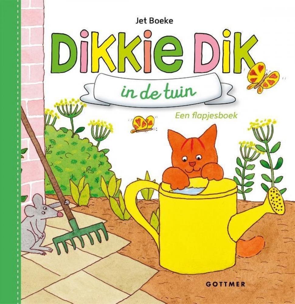Jet Boeke,Dikkie Dik in de tuin