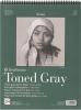 ,<b>Strathmore toned gray schetspapier 27.9x35.6cm</b>