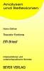 Fontane, Theodor, Fontane. Effi Briest. Interpretationen und unterrichtspraktische Hinweise
