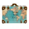 ,<b>Spaarpot vintage world map</b>