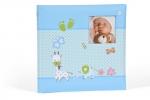 ,<b>Babyalbum baby momenst blauw</b>