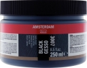 <b>Talens amsterdam gesso zwart 250 ml</b>,