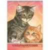 ,<b>Verjaardagskalender Franciens Katten Best Friends 18x25</b>