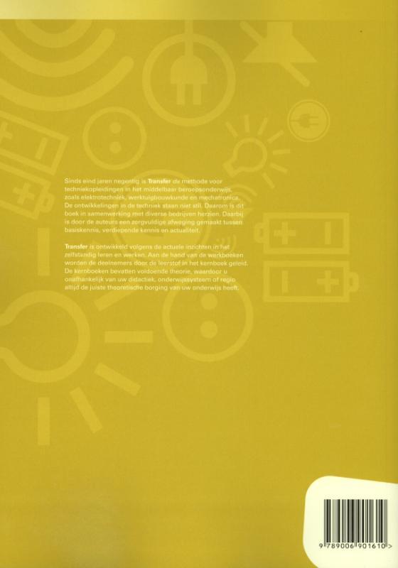 H. Frericks, S.J.H. Frericks,Tr@nsfer-e Elektrotechniek 3MK Leerwerkboek
