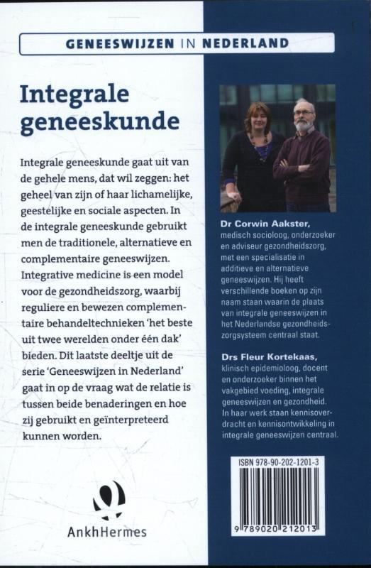 Corwin Aakster, Fleur Kortekaas,Integrale geneeskunde