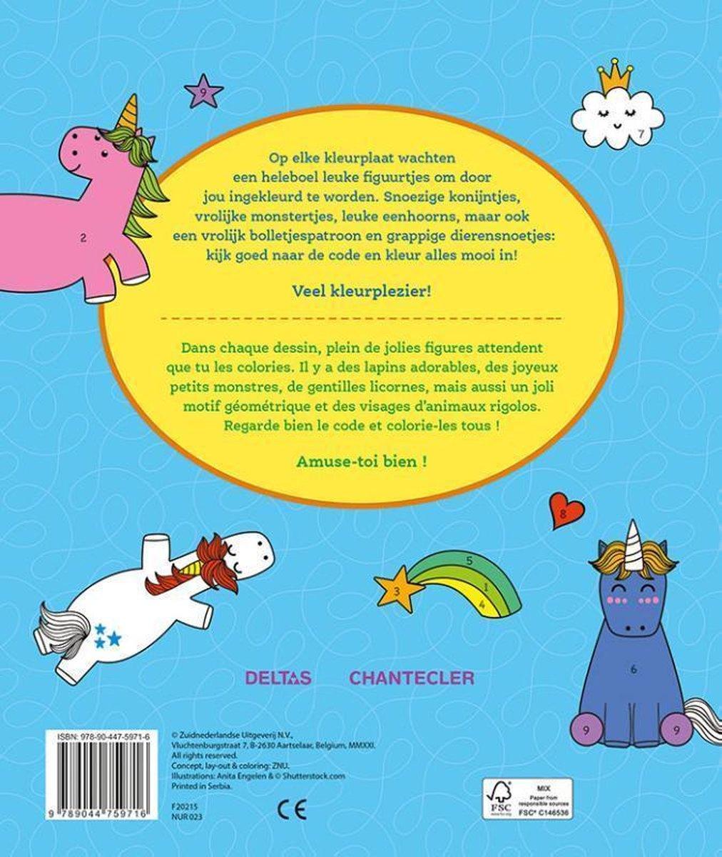 ZNU,Funny Coloring - Kleuren op nummer Funny Coloring - Coloriages codés