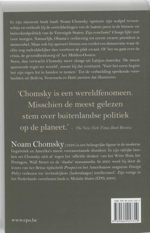 Noam Chomsky,Hoop en toekomst