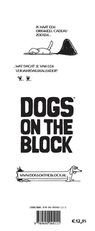 Jeroen Bakker, Sanne Van der Ham,Dogs on the Block