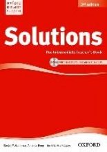 Solutions: Pre-intermediate: Teacher`s Book and CD-ROM Pack