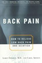 Loren (Professor of Rehabilitation, Albert Einstein College of Medicine, USA) Fishman,   Carol Ardman Back Pain