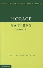 Horace Horace: Satires Book I