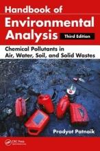 Patnaik, Pradyot Handbook of Environmental Analysis