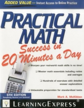 Learningexpress LLC Practical Math Success in 20 Minutes a Day