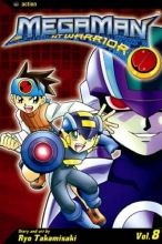 Takamisaki, Ryo,   Leach, Gary Megaman NT Warrior 8