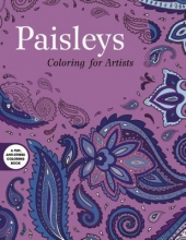 Skyhorse Publishing Paisleys: Coloring for Artists