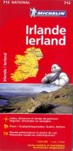 Michelin wegenkaart 712 Ierland