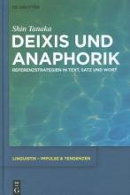 Shin Tanaka Deixis Und Anaphorik