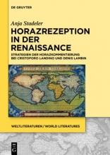Stadeler, Anja Horazrezeption in der Renaissance