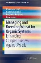 Muhammad Asif,   Muhammad Iqbal,   Harpinder Randhawa,   Dean Spaner Managing and Breeding Wheat for Organic Systems