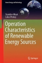 Misak, Stanislav Operation Characteristics of Renewable Energy Sources