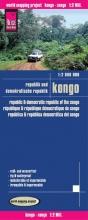 , Reise Know-How Landkarte Kongo (1:2.000.000): Republik und Demokratische Republik Kongo