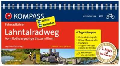 Hans-Peter Vogt, FF6310 Lahntalradweg, Rothaargebirge bis zum Rhein Kompass