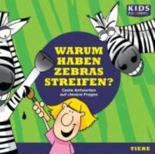 Schubert, Katharina CD WISSEN Junior - KIDS Academy - Warum haben Zebras Streifen?