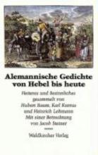 Alemannische Gedichte von Hebel bis heute