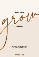 Estrella van Toor , Wake up to grow Journal