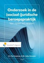 Anke Hornstra Piet Hoekman, Onderzoek in de (sociaal-) juridische beroepspraktijk