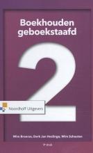 Wim Schauten Wim Broerse  Jan Heslinga, Boekhouden geboekstaafd 2
