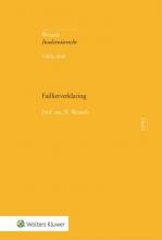 B. Wessels , Faillietverklaring
