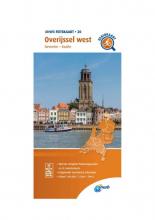 ANWB , Fietskaart Overijssel west 1:66.666
