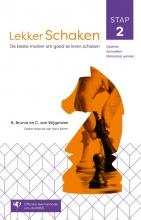 Cor van Wijgerden Rob van Brunia, Lekker schaken stap 2 openen, aanvallen, materiaal winnen