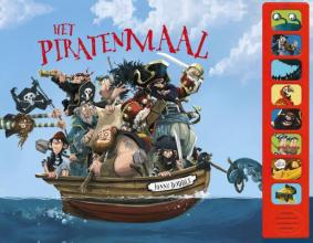 Jonny  Duddle Het piratenmaal - geluidenboek