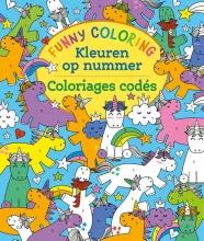 ZNU , Funny Coloring - Kleuren op nummer Funny Coloring - Coloriages codés