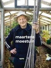 Maarten `t Hart Maartens moestuin, boek met 2 dvd`s