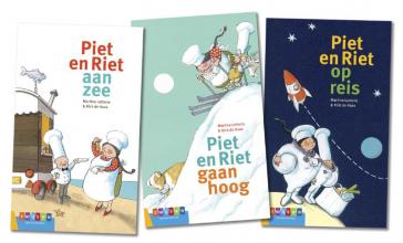 Martine Letterie , Pakket AVI groeiboeken Piet en Riet (3 titels)