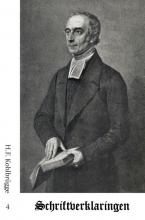 H.F.  Kohlbrügge Schriftverklaringen 4