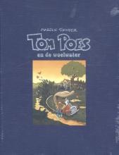 Marten  Toonder Tom Poes avonturen Tom Poes en de woelwater (luxe linnen editie met genummerde en gesigneerde prent)