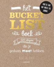 Elise De Rijck , Het Bucketlist boek