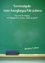 Jessica  Colins Survivalgids voor hoogbegaafde pubers