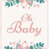Mooie  Gastenboeken ,Gastenboek voor Babyshower | Babyborrel | Verjaardag Van Kinderen | Kraambezoek & Kraamfest | Babyfeestje | Babyfeest Versiering | Mooi Gastenboek