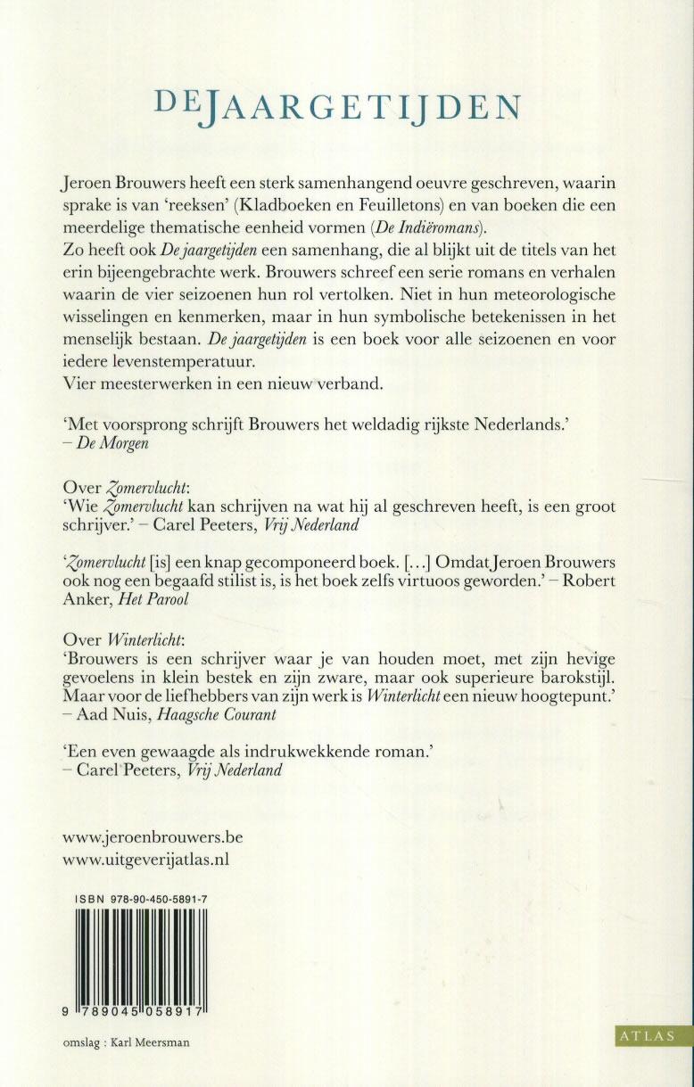 Jeroen Brouwers,De jaargetijden