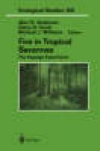 Andersen, Alan N.,   Cook, Garry D.,   Williams, Richard J. Fire in Tropical Savannas