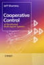 Shamma, Jeff Cooperative Control of Distributed Multi-Agent Systems